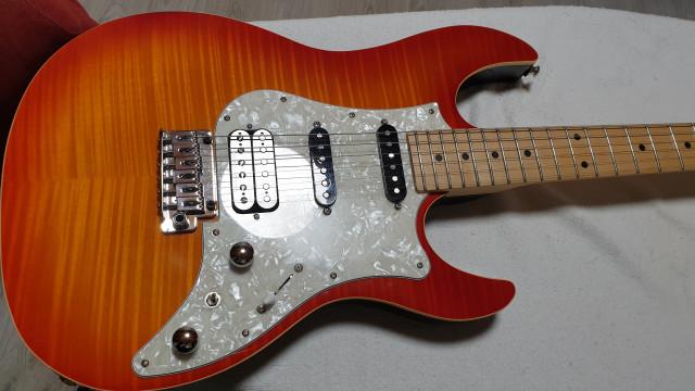 Guitarra  Electrica FUJIGEN JOS-FM-M-FBT