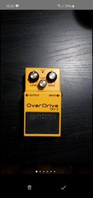 Pedal Overdrive Boss OD-3