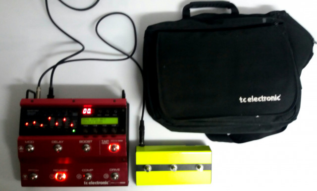 T.c. electronic Nova system red edition+switch+gig bag+envío