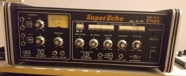 Eco de cinta Evans SE-780 (RESERVADO)