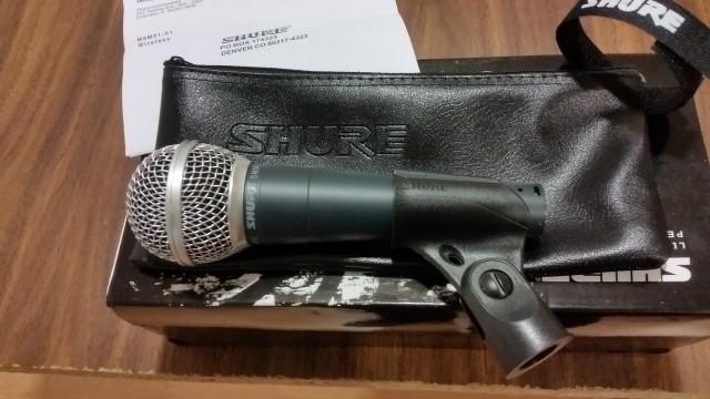 microfono shure sm-58-57