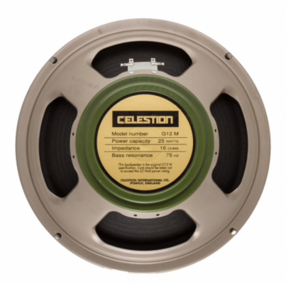 Celestion Greenback Made in UK 16ohm