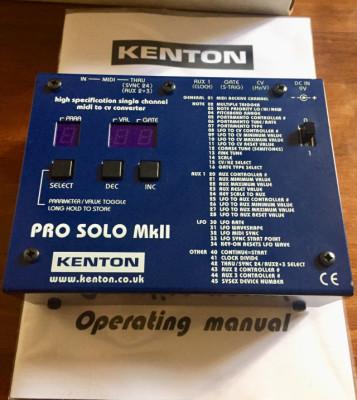 Kenton Pro Solo MkII. Convertidor Midi/CV