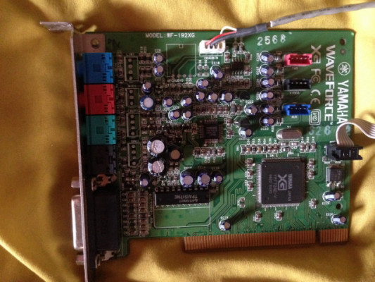 Yamaha waveform 192 XG PCI sound car