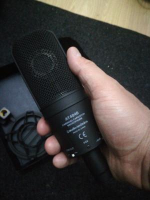 Audio Technica AT4040 microfono tipo Condensador