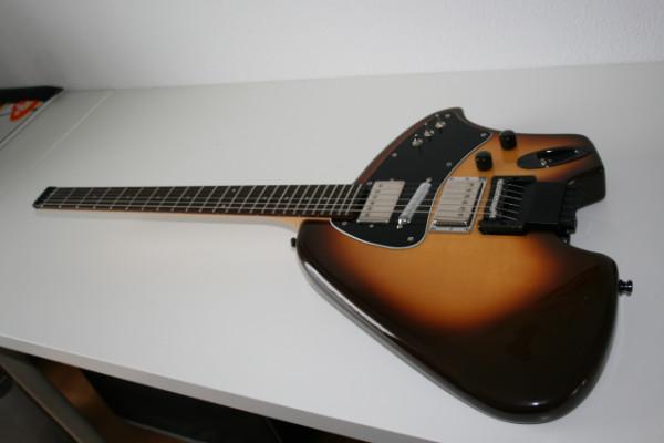 Guitarra custom tipo klein de luthier