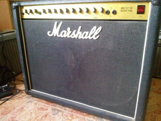 Marshall Mosfet Twin Reverb 80's 100w UK