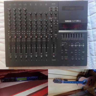 OFERTA LOTE COMPLETO  Multitrack estudio, Reverb y guitarra clásica