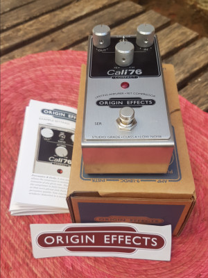 Origin Effects Cali 76 compact compresor