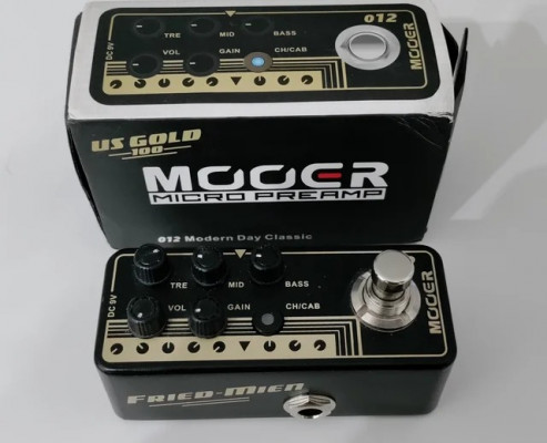 Mooer 012 US Gold 100 Fried-Mien Preamp