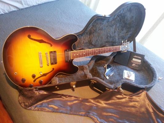 Gibson ES 335 VS / Fender Deluxe Reverb Amp