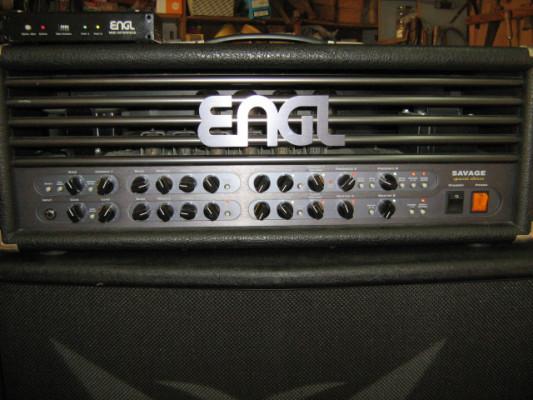 engl savage especial edicion E660 de 120 watios + pantalla 4.12    Hughes & kettner     Celestion Classic Lead