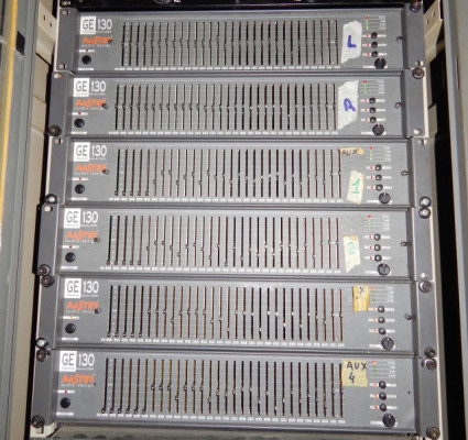 Ecualizador Gráfico 30 Bandas Master Audio GE130 GE 130 (6 Uds.)