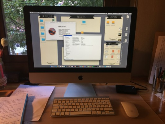 """iMac 21,5 """" mid 2011 i5 2,50ghz 20 GB RAM"""