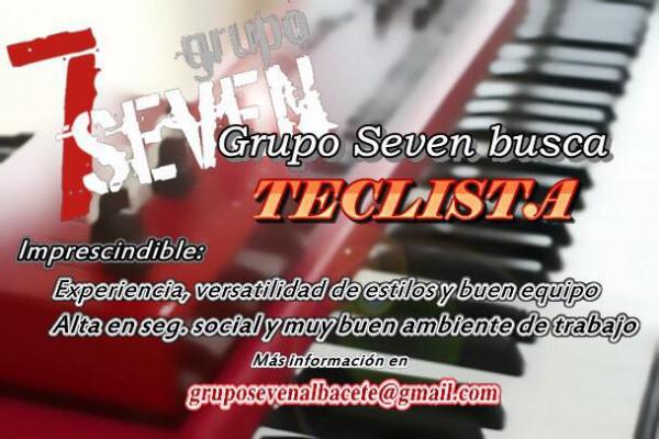 Grupo Seven busca teclista