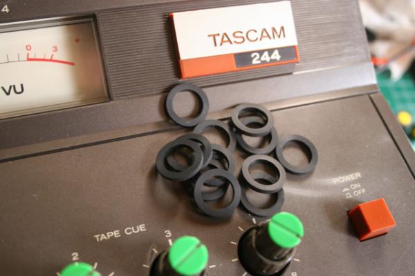 TASCAM 244 Roller / Correa Control y Capstan / Idler tyres