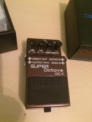 Boss OC-3 Super Octave. Envío incluído
