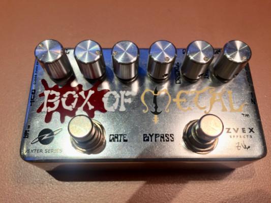 ZVEX Box Of Metal (también para otros estilos, incluyo envío) (RESERVADO)