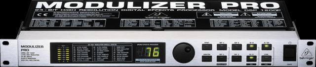 Behringer Modulizer pro nuevo (multiefectos)