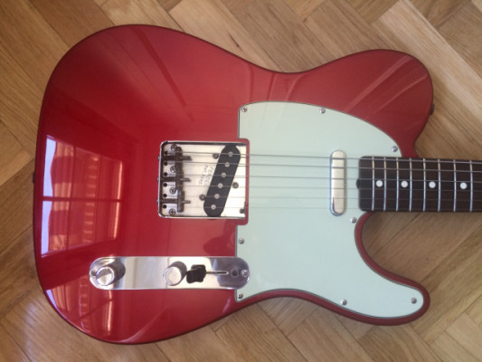 Telecaster Classic 60s Candy Apple Red