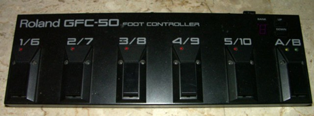 Pedal Midi Roland GFC-50