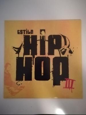Vinilo rap Estilo hip hop III