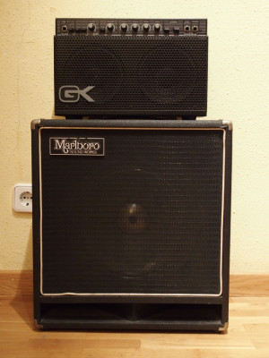 Amplificador Guitarra Gallien-Krueger 250ML 100W Stereo.