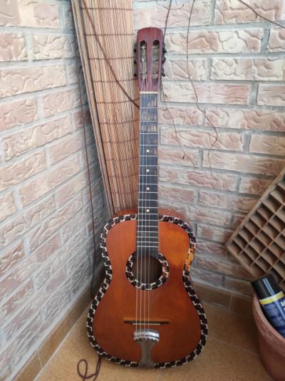 Guitarra parlor fabricante desconocido
