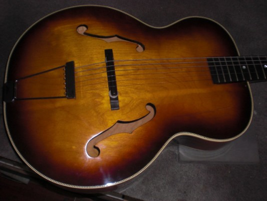archtop harmony broadway vintage