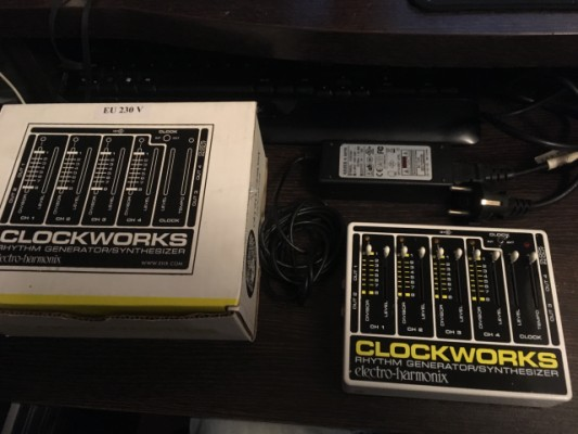 Electro Harmonix Clockworks