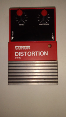 PEDAL DE DISTORSION / CORON