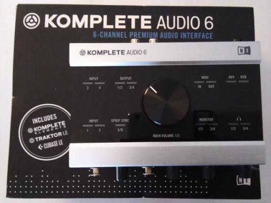 Komplete Audio 6 NI
