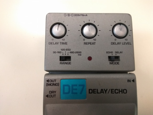 IBANEZ DE-7 ( DELAY / ECHO )