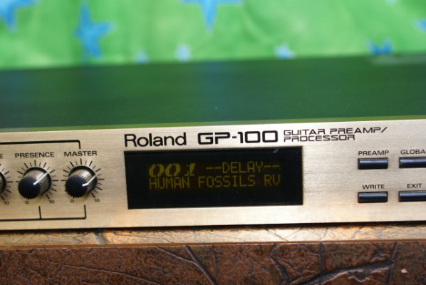 Preamplificador/Procesador de Efectos Roland GP-100