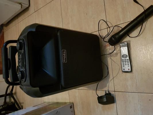 Altavoz inalambrico PA IBIZA POWER8 con microfono