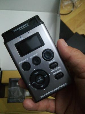 Grabador nuevo marantz pmd620 en su caja.