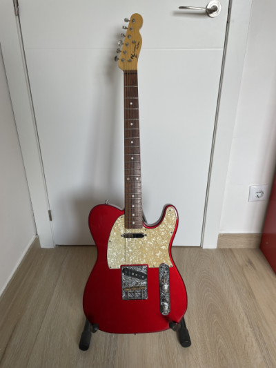 NZ Custom Guitars Tele Candy Apple