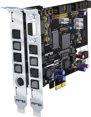 RME HDSPe rayDAT 72 channel ADAT/AES con módulo WC