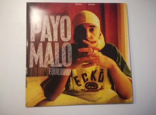 Vinilo hip hop rap El Payo Malo equilibrio