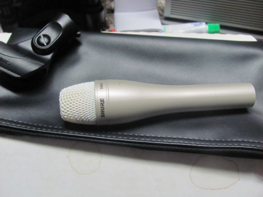 Micrófono Shure SM 63 omnidireccional