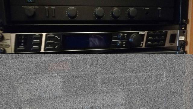 behringer deq 2496 con micro calibración