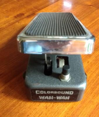 Colorsound WAH WAH (Sola Sound ver.) - 1980