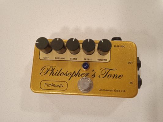 Pigtronix Philosopher Tone Germanium Gold Limited Edition