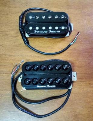 Set de pastillas Seymour Duncan sh-8b invader sh-6n distortion