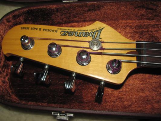 1985 Ibanez Jazz Bass RoadStar II Fretless made in Japan