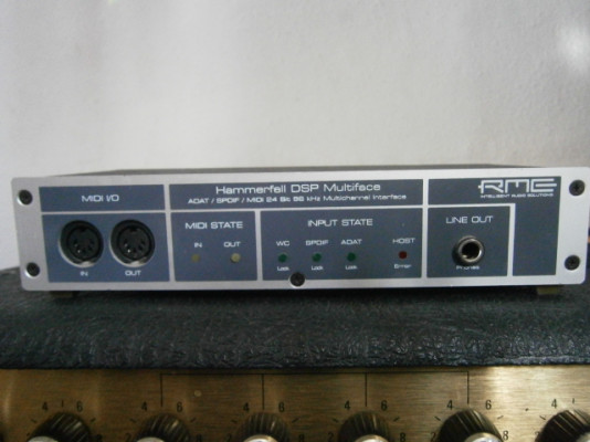 RME Hammerfall DSP Multiface (interface pro)