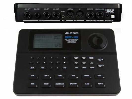 Caja Ritmos ALESIS SR 16 Drum Machine - Compacta y con MIDI
