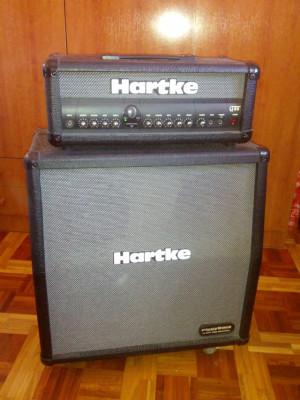 Hartke cabezal y pantalla