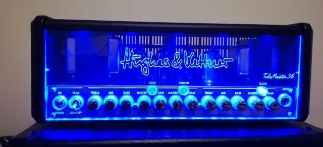 Amplificador cabezal a válvulas Hugues and Kettner tubemeister 36