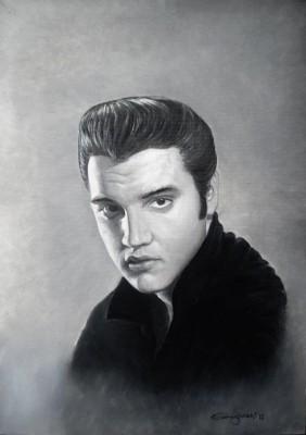 Vendo/Cambio Elvis (cuadro oleo 50x70 cm)